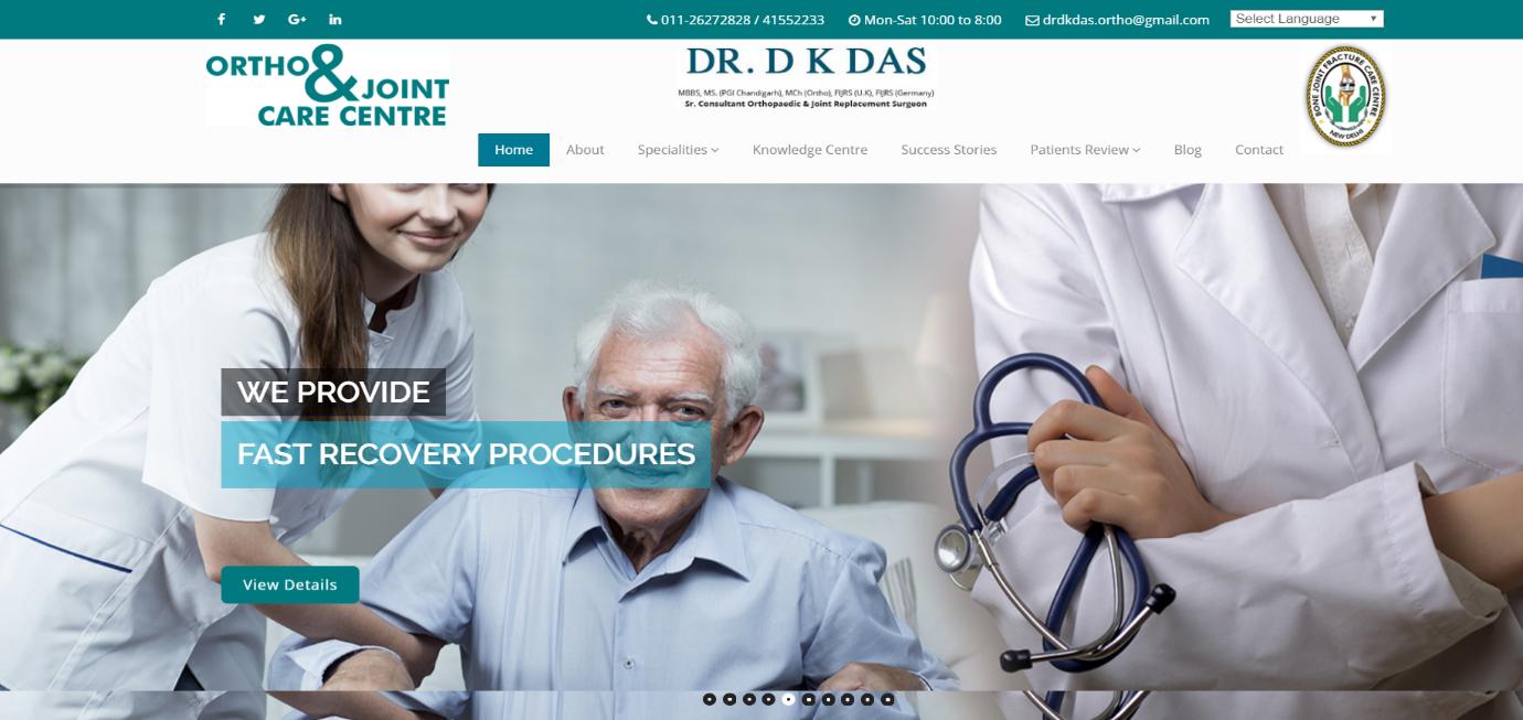 Dr DK Das